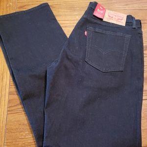 Brand new Levi's men's jeans 514 straight 33x32